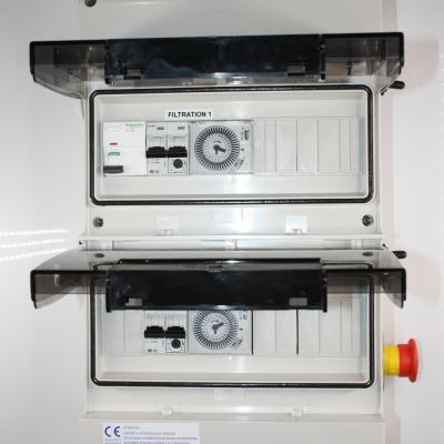 Coffret électrique 2 pompes avec arrêt d'urgence intégré  #2