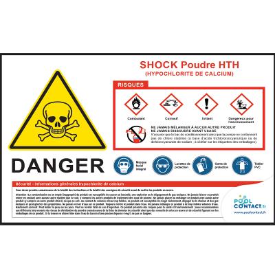 101 -             Panneau Shock Poudre HTH