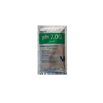 Solution Etalon pH 7 à usage unique - sachet de 20ml