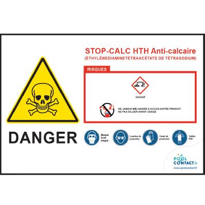 111 -             Panneau Stop-Calc  HTH
