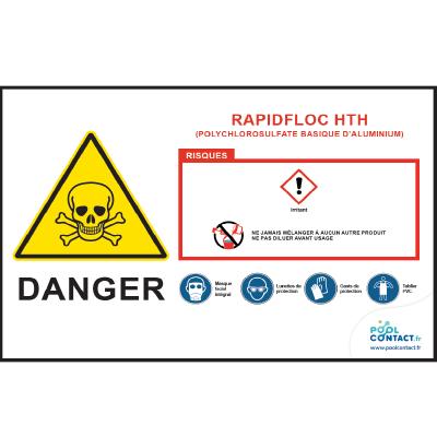 114 -             Panneau Rapidfloc  HTH