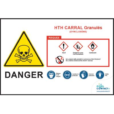 113 -             Panneau Carral Granulés  HTH