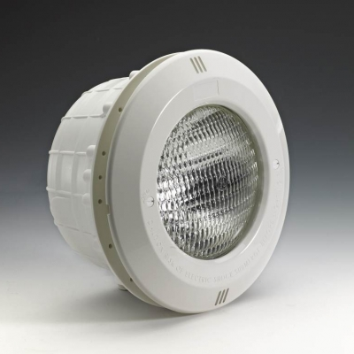 Projecteur complet ABS  blanc Astral piscine béton - modèle verrou 1/4 de tour - 45040    #1