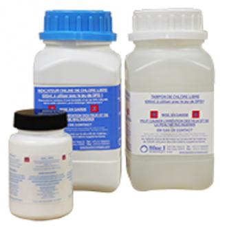 Réactifs - Pastilles d'analyse - Carnet sanitaire