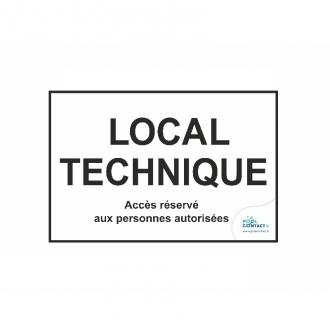 Sécurité:  Local Technique - EPI - Chimie