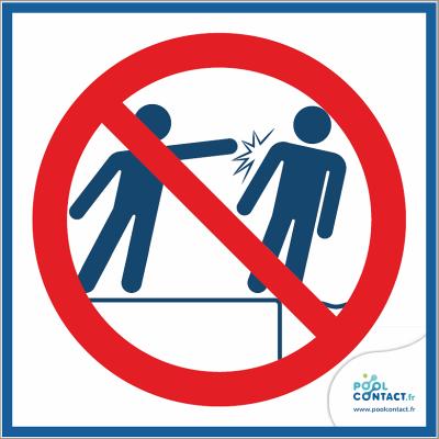 10/11 - Interdiction de pousser 15cm x 15cm        #1