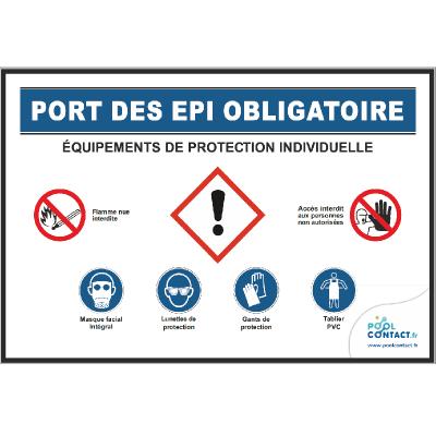 125 -             Panneau Port des EPI Obligatoire