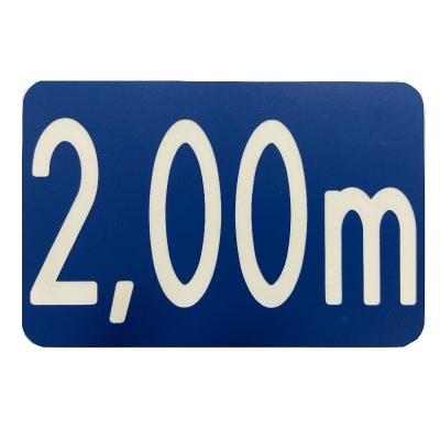 23 -             Panneau Profondeur Bassin 15cm x 10cm            #2