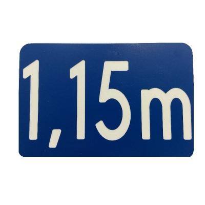 23 -             Panneau Profondeur Bassin 15cm x 10cm            #3
