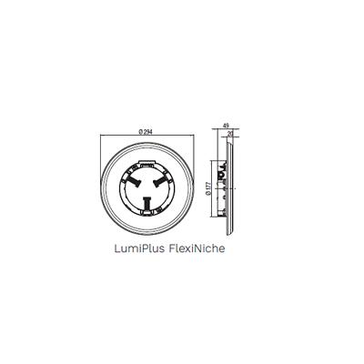 Optique complète adaptable Astral LumiPlus FlexiNiche #3