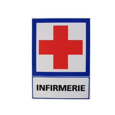 197 -             Panneau Infirmerie  21cm x 15cm              #1