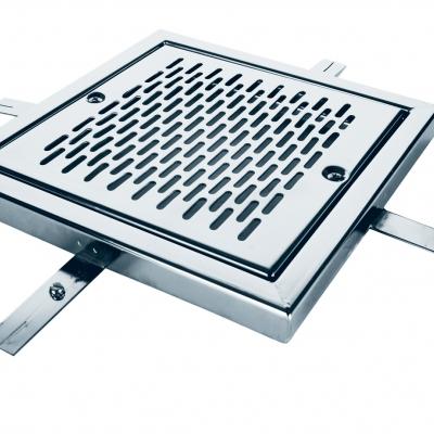 Grille inox   de drainage de fond - pièces détachées