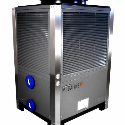 Pompe à chaleur POOLEX  Megaline FI 500      50/68 kW - Tri