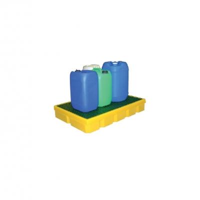 Bacs  de rétention avec caillebotis pour produits chimiques liquides #1